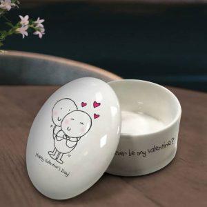 Personalised Trinket Box Chilli Bubbles