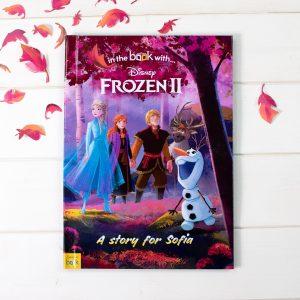 Personalised Frozen 2 Hardback Cover