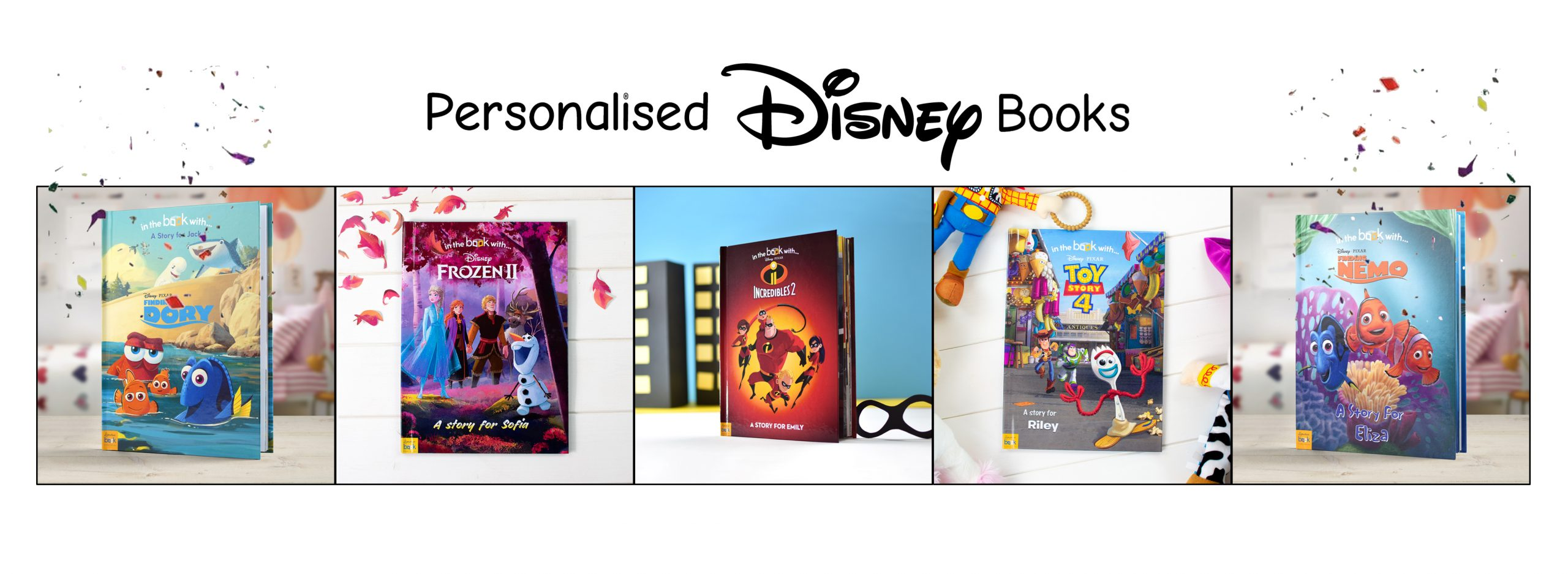 Personalised Books Banner