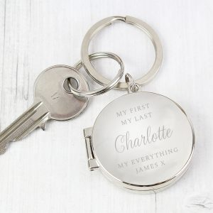 Personalised Metal Keyrings