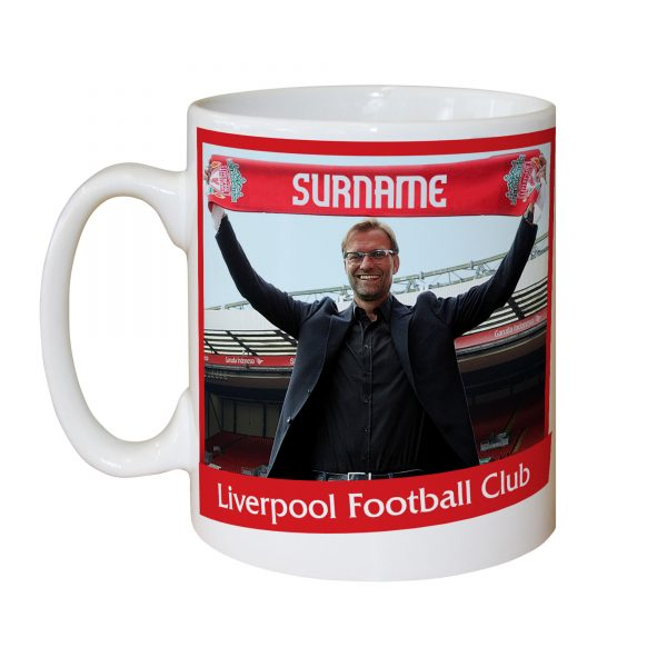 Personalised Football Mugs - Jurgen Klopp - LFC Manager