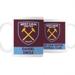 Personalised West Ham Mug