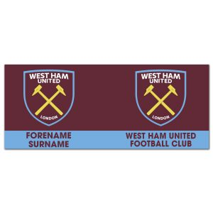 Personalised West Ham Design for Mug