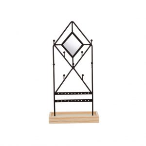 Jewellery Display Stand Black Diamond