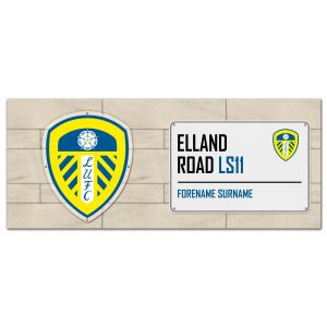 Leeds United FC Street Sign