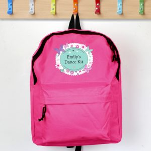 Personalised Girls Rucksacks