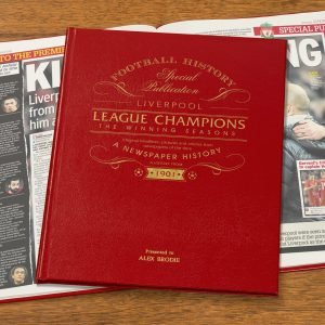 Personalised Soccer Books