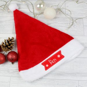Personalised Santa Sacks & Hats