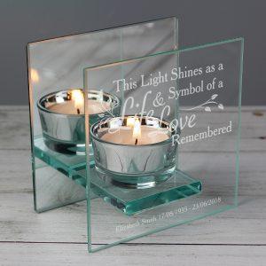Personalised Tea Light Candle Holders