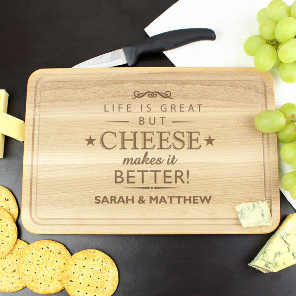 Customised Cheese Board