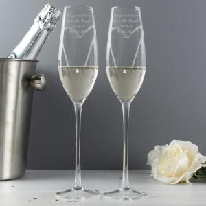 Bespoke Champagne Flutes