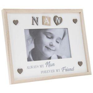"Nan Photo Frame 4x6"" Shabby Chic"