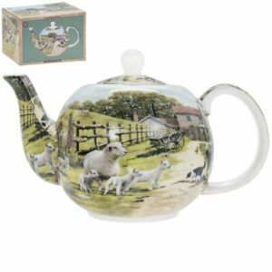 Handmade Teapot Collie and Sheep Dog