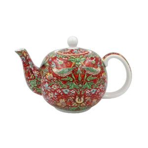 Fine China Teapot Strawberry Thief