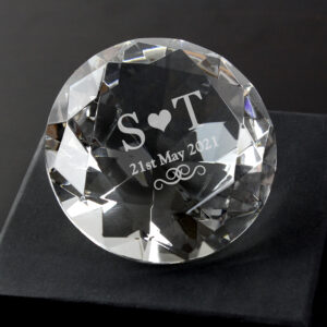Customised Glass Paperweight