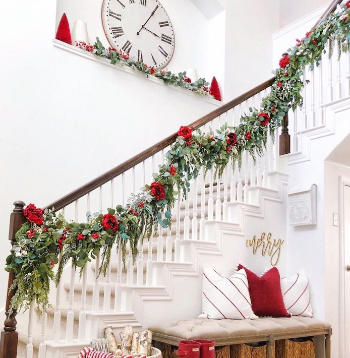 Stairway Christmas Decoration