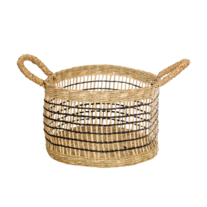 Seagrass Storage Baskets l Open Weave - Set of 2