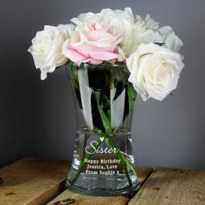 Personalised Flower Vases