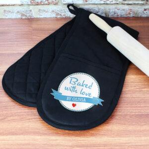 Bespoke Oven Gloves / Customised / Baking Gloves / Oven Mitts